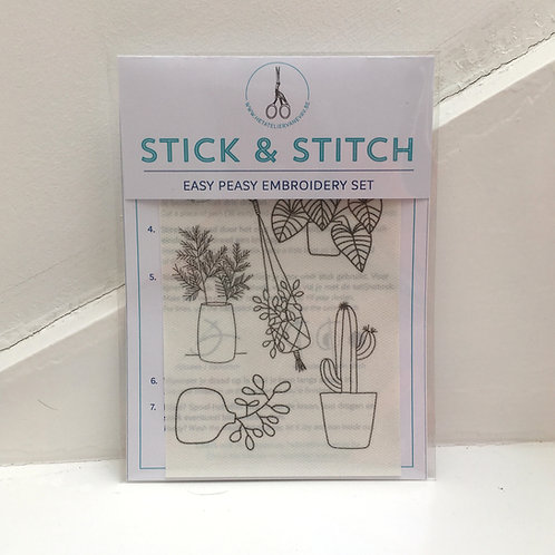 stick & stitch *urban jungle* refill