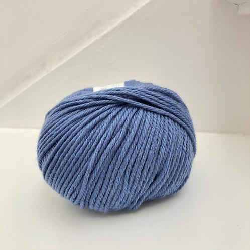 mega wool azuur