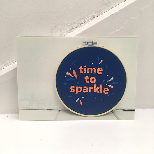 time to sparkle