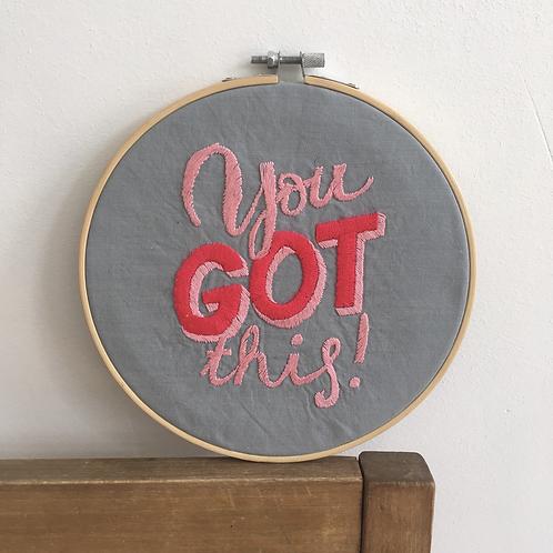 *you got this!* grijs