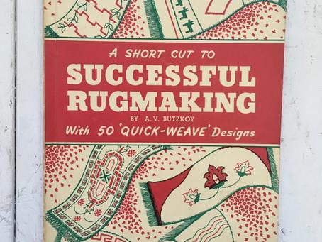 A short cut to successful rugmaking