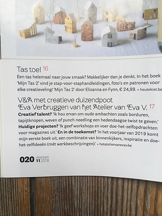 Het atelier van eva v in VT wonen