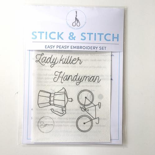 stick & stitch *him* refill