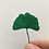 Thumbnail: embroidered ginko leaf