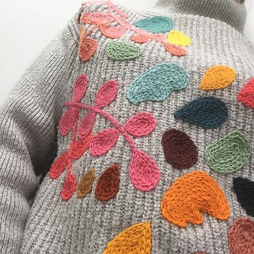 workshop *borduren op een trui* 13 juni '21