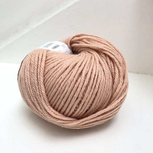 mega wool poederroze