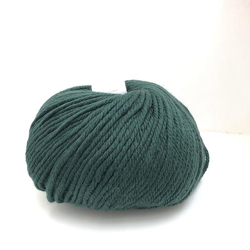 mega wool donkergroen
