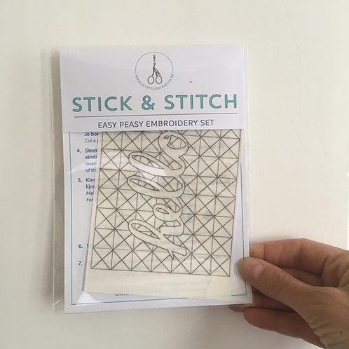 stick & stitch *hello* refill