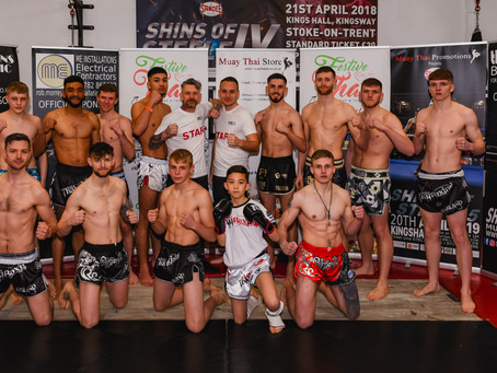 A busy half year already for Stoke Thai Boxing