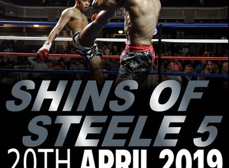 Sandee Shins of Steele 5 - Saturday 20th April 2019