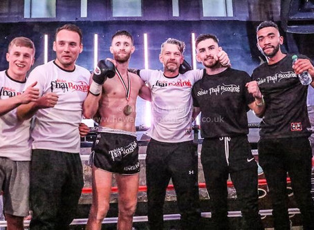 Stoke Thai Boxing fighters show up at MTGP Stoke