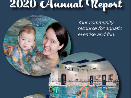 Annual Report from 2020 now posted