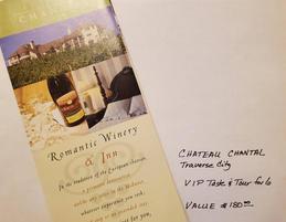 Chateau Chantel VIP Wine Tour for 6