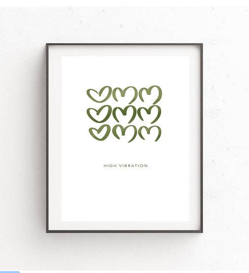 Omm Hearts (Green)