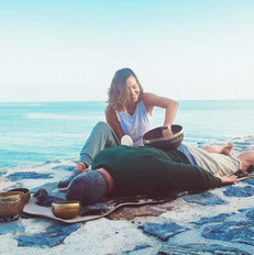Sound Massage by the sea