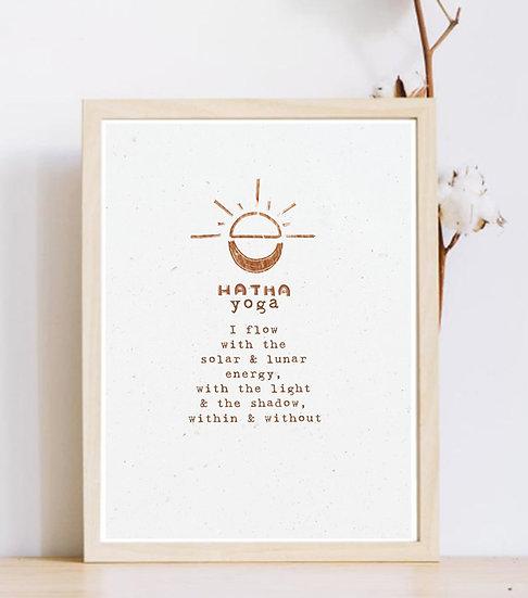 Solar & Lunar Energy (Hatha Yoga)