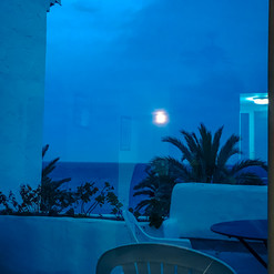 Moon ligh on the flats