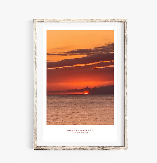 SunSalutation Poster