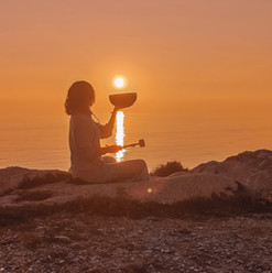 Sound Healing on the yoga weekends