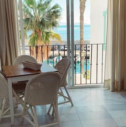 One bedroom flat, sea view