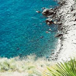 Marina Del Este beach from above