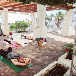 Yoga Studio Outdoors
