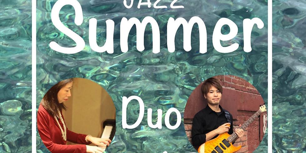 佐藤アル美x平栗達也 Jazz Summer Duo Live
