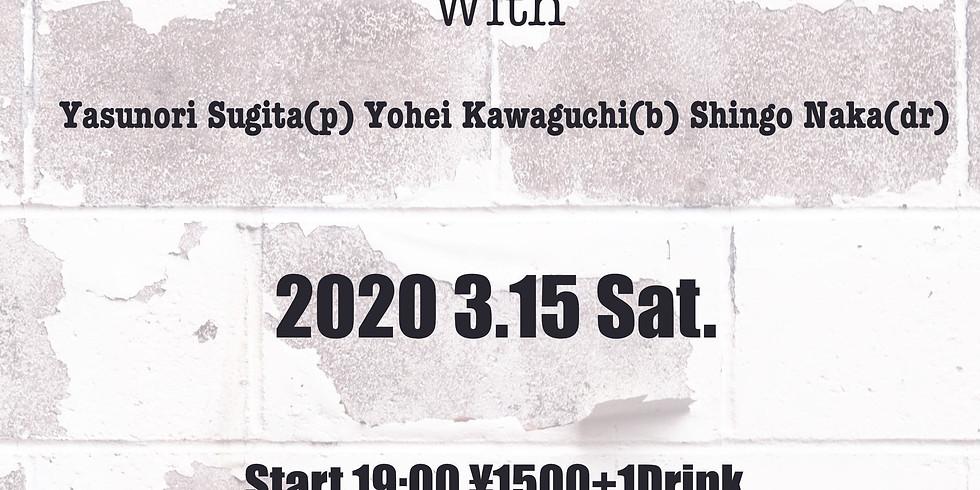 TATSUYA HIRAKURI Quartetto Live at Coffee&bar Ivy