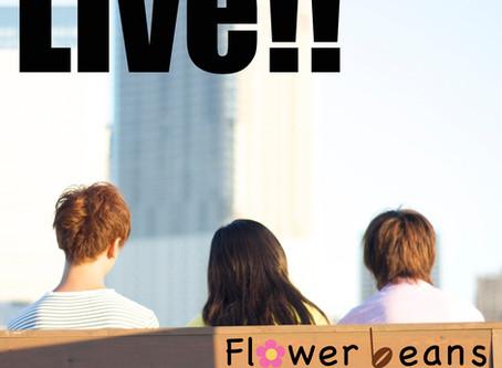 "Flower beans New Single ""Live!!"" リリース"