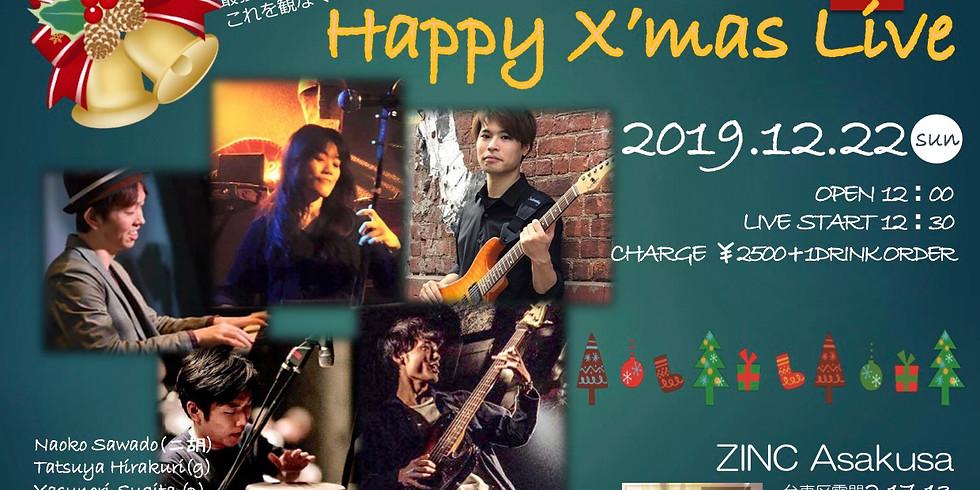 Happy X'mas Live by澤渡プロジェクト