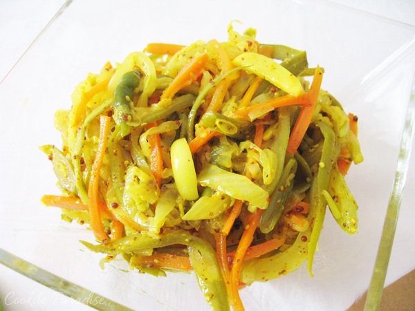 Achard de Légumes