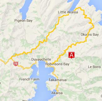 Scenic Tour map