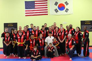 July 2017 Belt Promotion Test