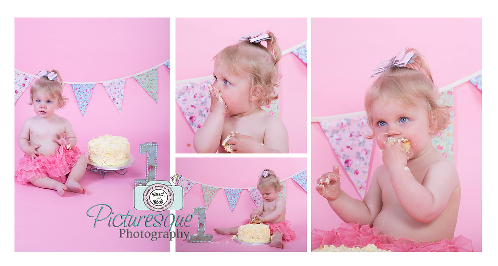 Cake smash fun with Baby D