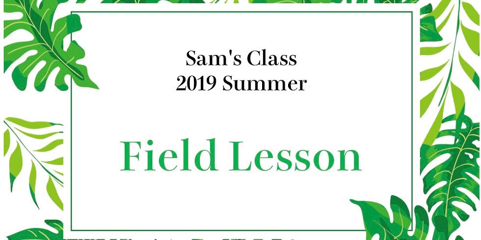 Sam's English:Field Lesson
