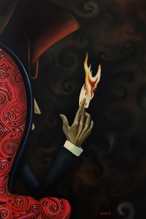 Carta fogo -(FINEART)