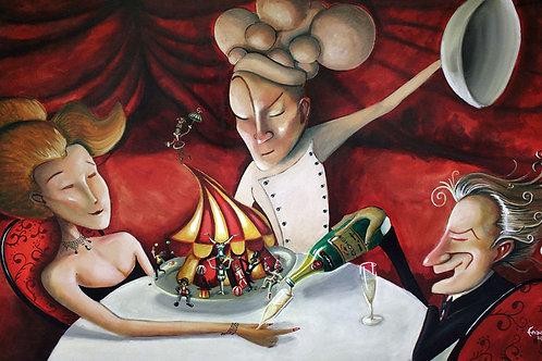 circus dinner
