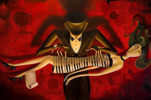 O mágico pianista -(FINEART)