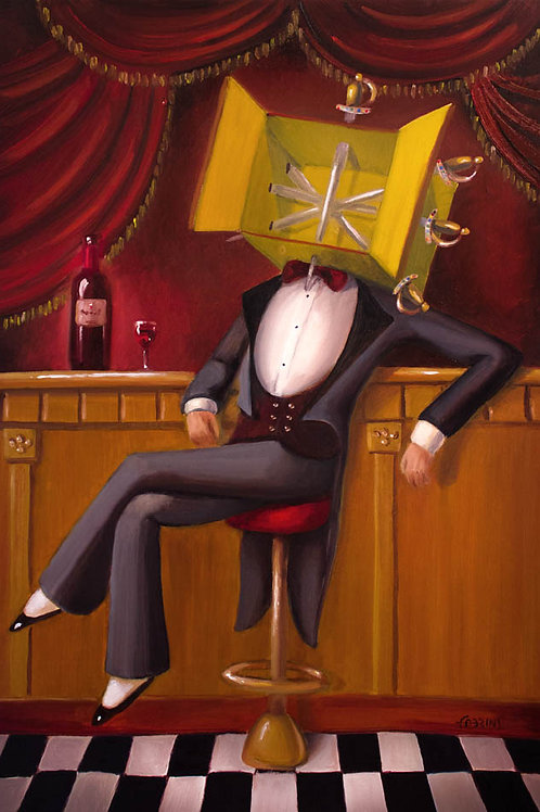 Wine -(FINEART)
