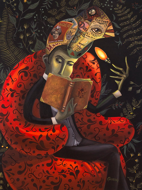 The reader (FINEART)