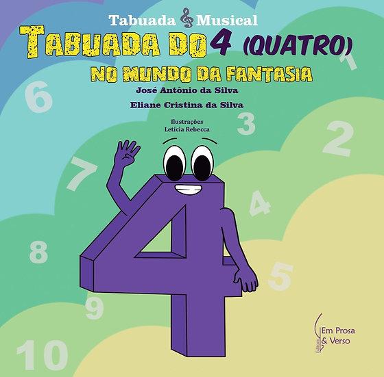 TABUADA DO 4 (QUATRO) NO MUNDO DA FANTASIA