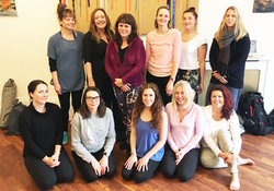 Group Children Do Yoga October 2017 Hove 4