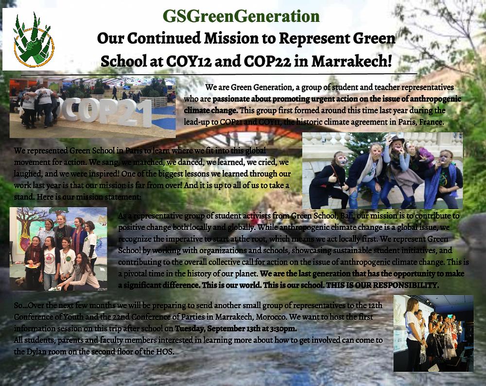 COPS22 info newsletter