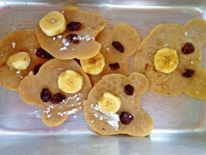 """Piggy Pancakes inspired by """"The Three Little Pigs"""""""