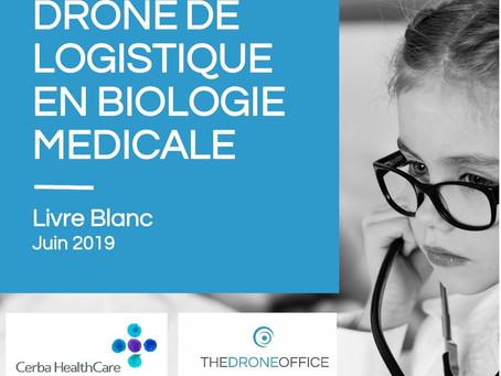 Drones de logistique en biologie médicale