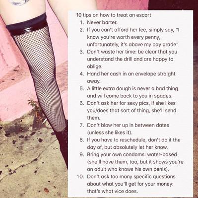 Some Hooker Advice
