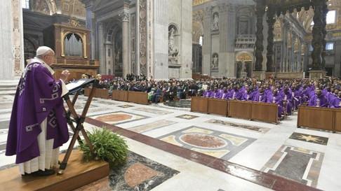 Проповедь Папы Франциска на первое воскресенье Адвента 2020.