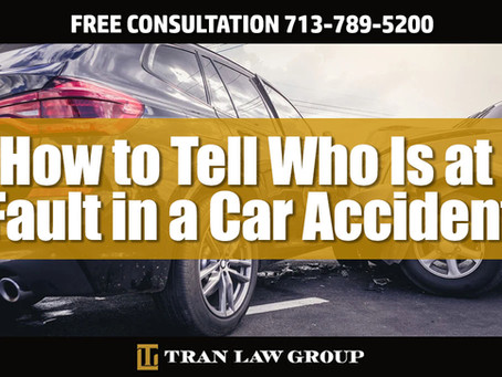 How to Tell Who Is at Fault in a Car Accident