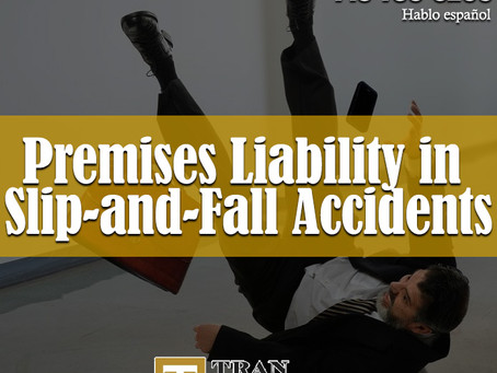 Premises Liability in Slip-and-Fall Accidents