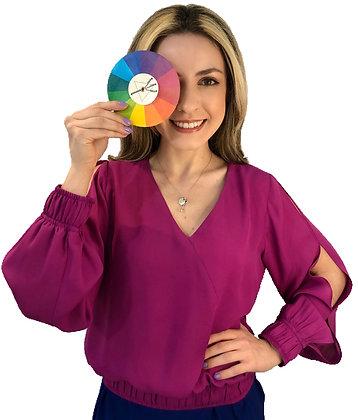 Blusa Arco-íris em 5 cores